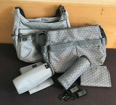 Wickeltaschen-Set Lässig Marv Urban Bag + Marv Shoulder Bag