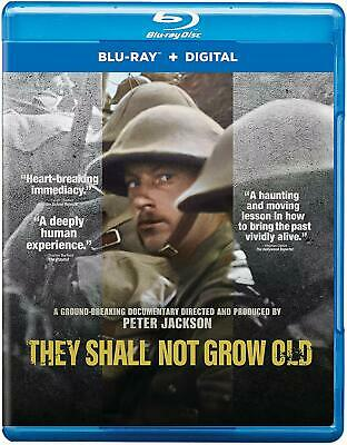 They Shall Not Grow Old NEW BLU-RAY Dir. Peter Jackson Hobbit, Lord of the Rings
