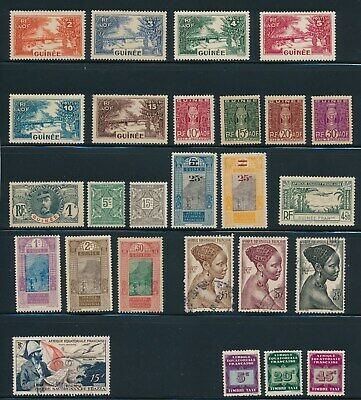 French Colonies: **60+ Mint & Used Guinee/Guyane & Guinea** All Diff