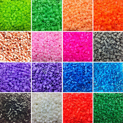 1000Pcs 5mm Perler Beads Colorful Hama Beads DIY Educational Toys Kid Gift HOT