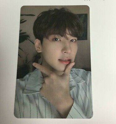 SEVENTEEN 1 st single Happy Ending WONWOO official photocard Carat ver.