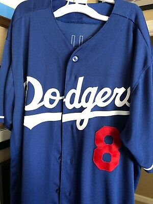 f67a7f2e9 Manny Machado LA Dodgers Jersey Majestic Authentic Flex Base Baseball MLB  Sz 48