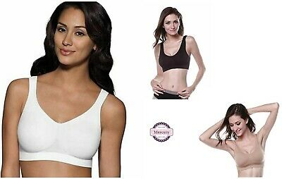 WOMENS SUREFIT SEAMLESS COMFORT PULL ON BRA PADED AND NON PADED Sizes S-3XL