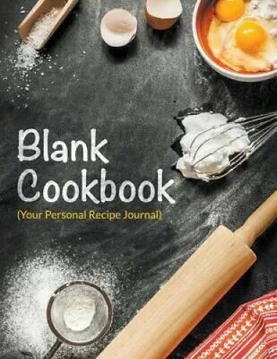 Blank Cookbook (Your Personal Recipe Journal) 9781681278841 | Brand New