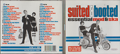 Suited And Booted - Essential Mod & Ska 2 Cd Album - 5033197337029