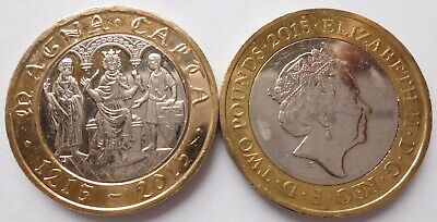 £2 Commemorative coin: 2015 800th Anniversary signing of Magna Carta