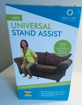 ~Able Life Universal~STAND ASSIST~Adjustable Mobility Aid~Couch Chair RAIL LIFT