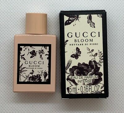 45b5eee18 Gucci BLOOM Nettare Di Fiori for Women EDP Intense Mini Perfume 0.16oz /  5ml NIB