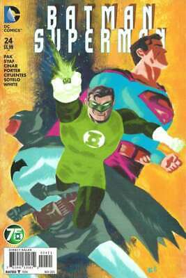Batman/Superman (2013 series) #24 in Near Mint condition. DC comics [*qf]