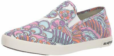 Trina Turk For Seavees By Women/'s Baja Slip On Floral Canvas Loafer Sz 7 and 8.5