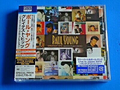 Japan Paul Young Greatest Hits Japanese Single Collection Bscd2 Blu Spec Cd+Dvd
