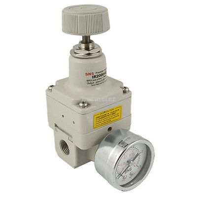 H● IR2000-02 0.25MPa Gauge Range Air Pressure Precision Regulator.