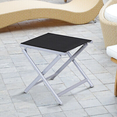 Garden Texteline Furniture Folding Chairs Square Table Footstool Sun Lounger
