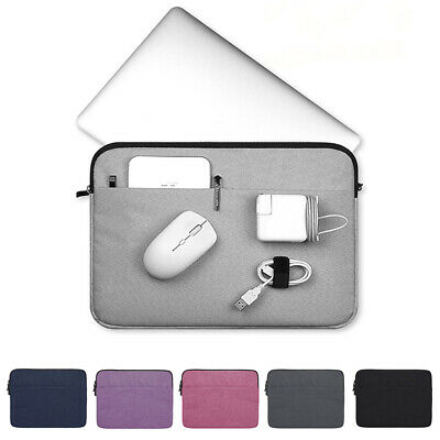 Laptop Bag Sleeve Case Cover Pouch For MacBook Air Pro Lenovo HP Dell Asus