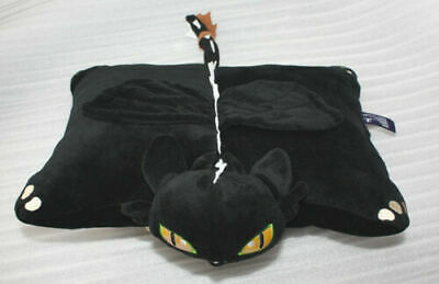 How To Train Your Dragon Toothless Night Fury Plush Cushion Pillow Xmas Gift New