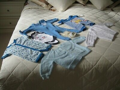 Baby Boys Clothes 7 New Items Selling Together Different Outfit White, Blue