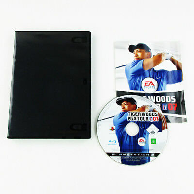 PS3 - PLAYSTATION 3 Juego Tiger Woods Pga Tour 07 con Instrucciones y Funda #C