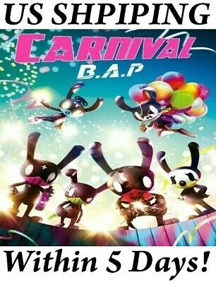 US SHIPPING B.A.P Carnival Mini Album Special CD+Poster/On+Book+Card+Stand