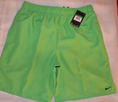 1fb62a97168fb NWT MENS NIKE Neon Green Volleyball Swim Trunks Size Large New ...