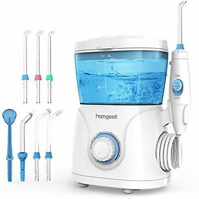 Water Flosser for Teeth,Homgeek Dental Oral Irrigator Teeth Water Jet Cleaner Fl