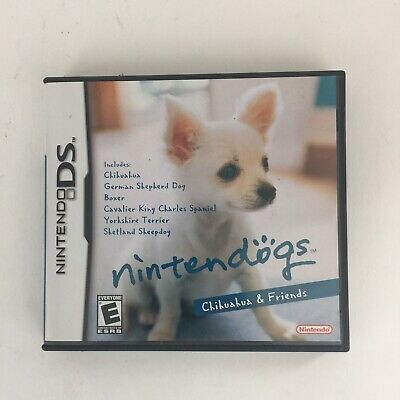 Nintendo DS Nintendogs: Chihuahua & Friends (Nintendo DS, 2005) Game & Case