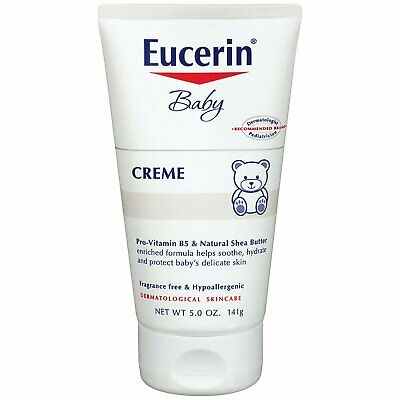 Eucerin Baby Crème - Hypoallergenic & Fragrance Free, Gentle Every Day Lotion...