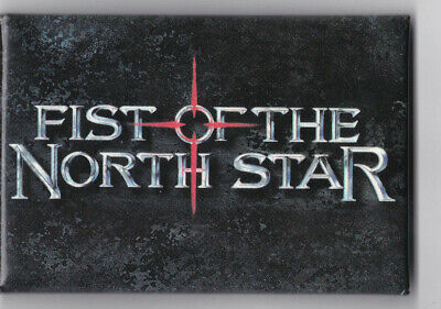 Fist of the North Star Promo Pin Button Badge Sci-Fi Japanese Manga Series