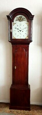 "A Fine Georgian Mahogany ""London"" Longcase Tallcase Grandfather Clock C1810"
