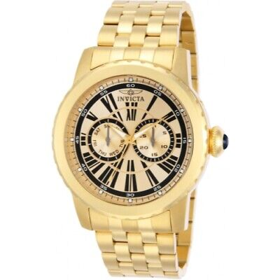 Invicta 14588 Specialty Quartz Day Date Stainless Steel Mens Watch