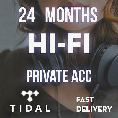 2 Months Fast Shipping Tidal Hi-fi Plan Not Shared Master Quality