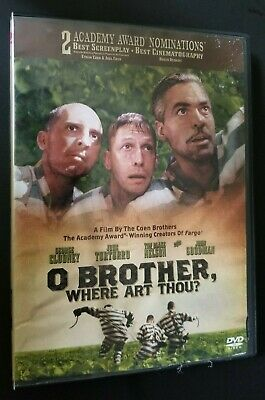 """""""O Brother, Where Art Thou?""""   DVD   George Clooney"""