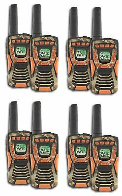 COBRA CXT1045R-FLT 37 Mi Waterproof Floating 2Way Radios Walkie Talkies (8-Pack)