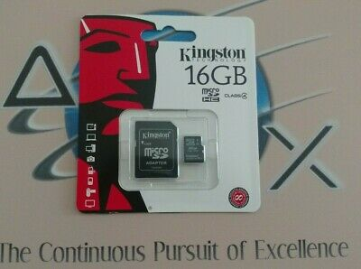 25 Pack -16GB-KINGSTON CLASS 4 micro SD SDHC microSD Flash Memory Card + Adapter