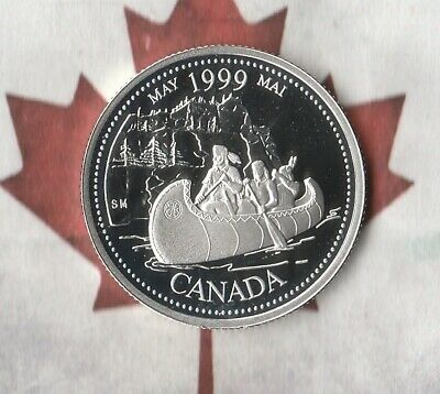 1999 Canada Sterling Silver Commemorative Quarter (25 cents) Proof- May