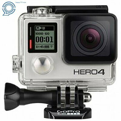 GoPro HERO4 Silver Edition +50 Piece Hero 4 Accessory Kit Camera Camcorder USA
