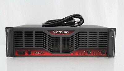Crown CE2000 Power Stereo Amp Formerly Church Owned Fully Functional