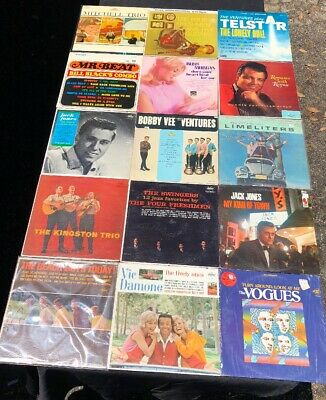 LOT OF (15) 60's LP VINYL RECORDS POP ROCK VARIOUS ARTISTS GREAT COLLECTION 4