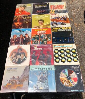 LOT OF (15) 60's LP VINYL RECORDS POP ROCK VARIOUS ARTISTS GREAT COLLECTION 3