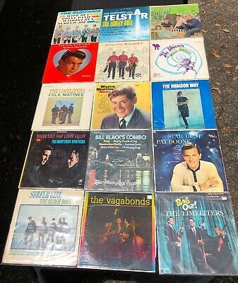 LOT OF (15) 60's LP VINYL RECORDS POP ROCK VARIOUS ARTISTS GREAT COLLECTION 2