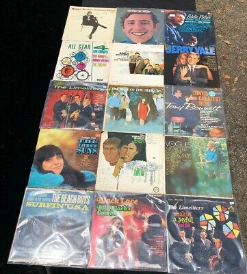 LOT OF (15) 60's LP VINYL RECORDS POP ROCK VARIOUS ARTISTS GREAT COLLECTION 1
