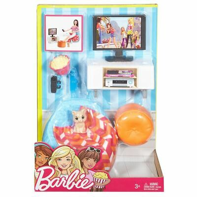 Barbie Indoor Accessory - Movie Night Set Brand New Fast Postage