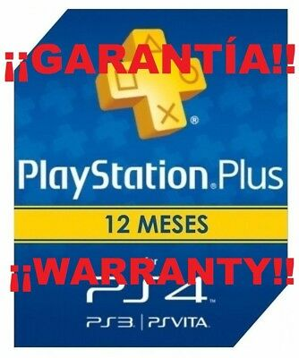Playstation Plus 365 Dias Psn 12 Meses Suscripcion Ps4 Online