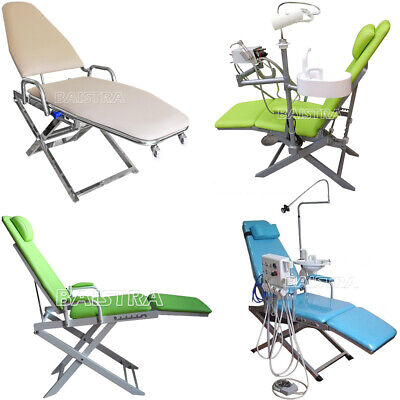 4 Type Dental Computer Controlled Unit Chair hard leather FDA CE UK