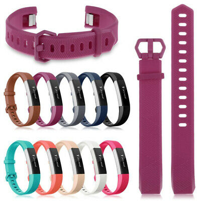 Silicone Soft Watch Band Wristband Strap Bracelet Replacement For Fitbit Alta HR