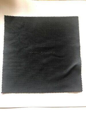 Dolce & Gabanna Black Sunglasses Eyeglass Cleaning Cloth Free Delivery