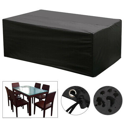 Garden Bench Cover Waterproof Outdoor Patio Furniture Cover for 3 Seater Bench