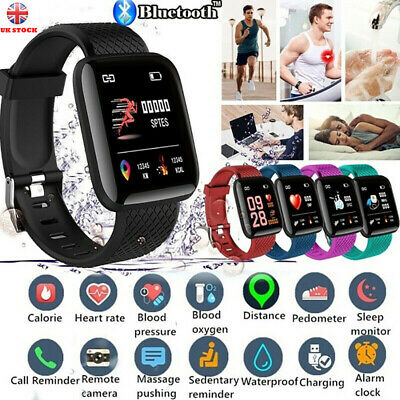 For Kids Fitness Smart Watch Band Sport Activity Tracker  Fit bit Android iOS UK