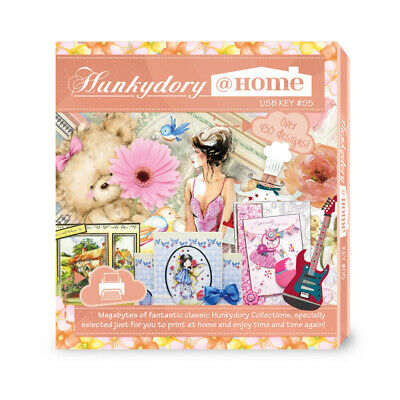 Hunkydory@Home USB Key 5  +  FREE Pen