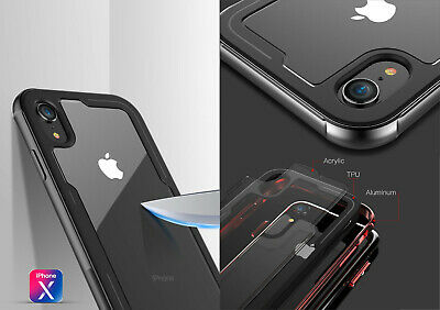 Coque Housse Etui Antichoc Bumper Rigide Apple iPhone X XR XS MAX 8 7 6s Plus