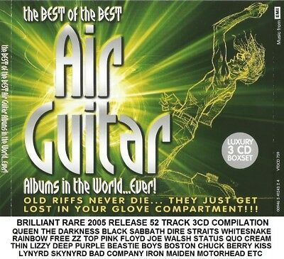 Best Greatest Rock Hits 3CD - Kiss Iron Maiden Van Halen Queen Pink Floyd Free